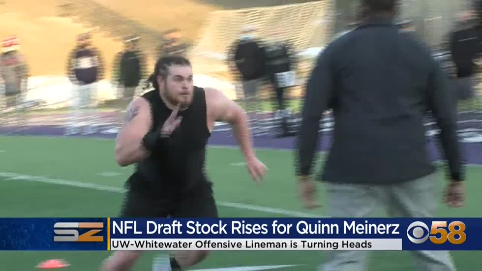 UW-Whitewater's Quinn Meinerz sees his NFL Draft stock rise